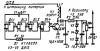 Постоянное напряжение стабилизируется параметрическим стабилизатором R2V3V4V5 и через делитель напряжения на.