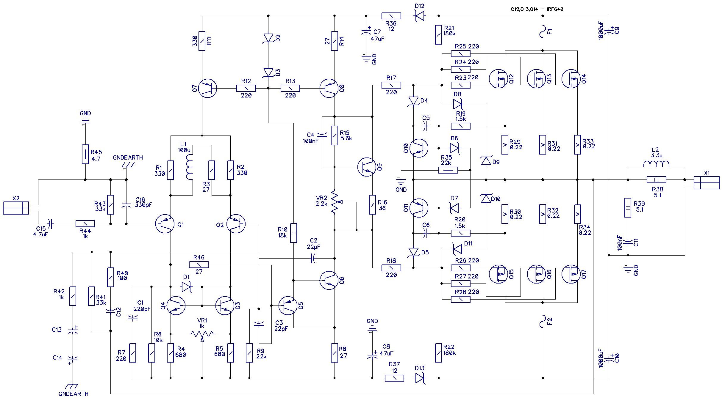 lm13700 схема лимитера