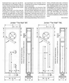 Головки Тэда Джордана.  Чертежи колонок.  Акустические системы Hi Fi.