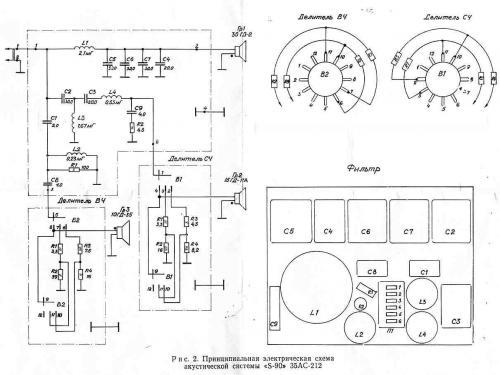 схема фильтра на радиотехнике