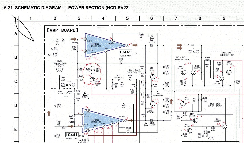 Принципиальная схема stk403 240a