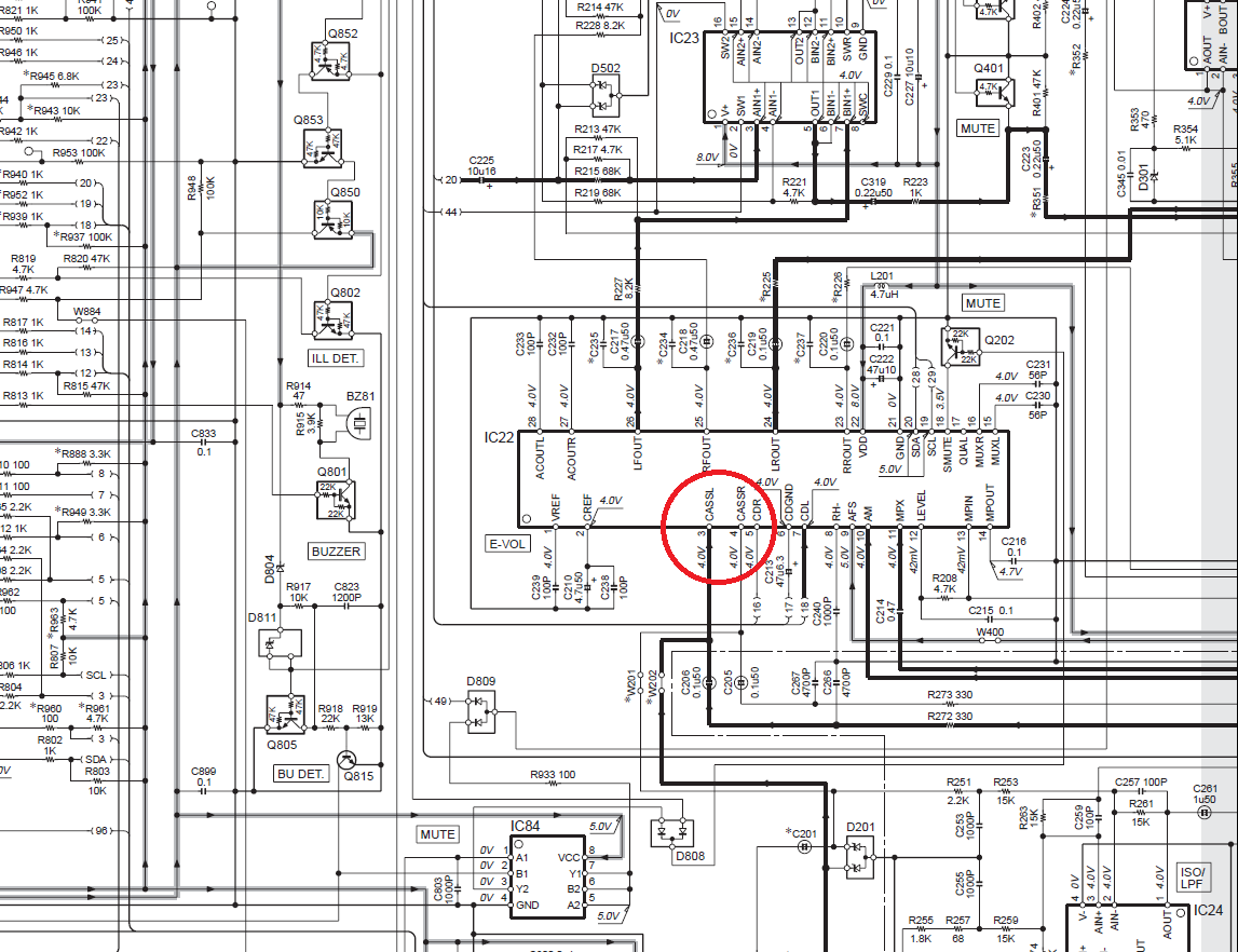 микросхема d1713ag и схема ее включения