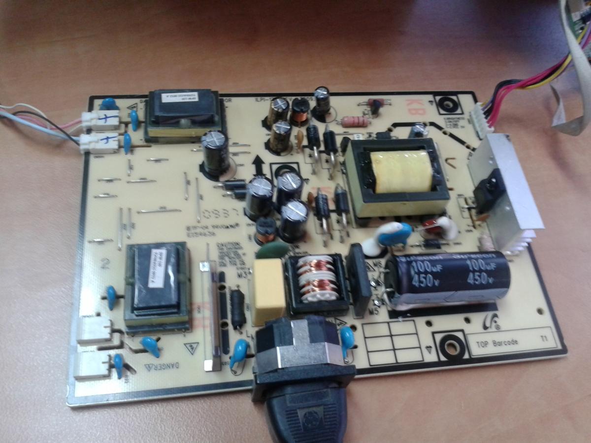Простой ремонт TFT монитора