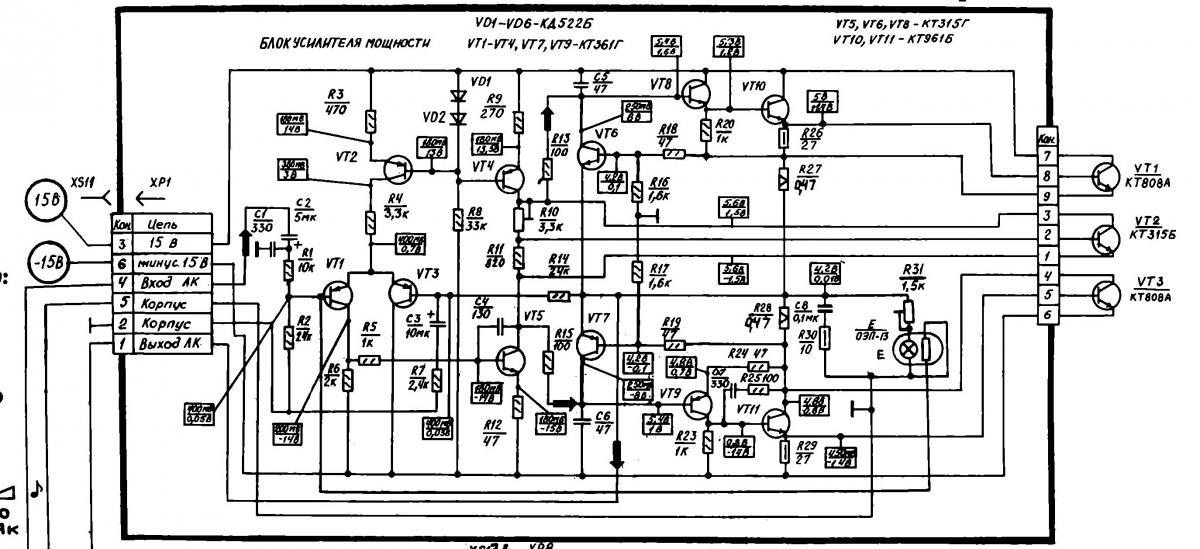 Схема протяжки гбц д 245