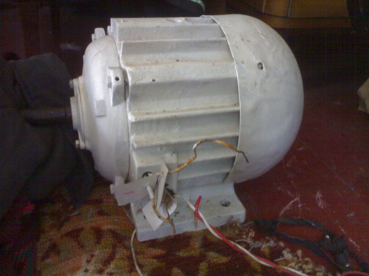 электродвигатель аолб-22-4 220в схема подключения