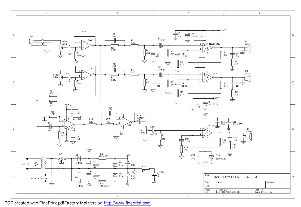 Схема и описание работы блока бду