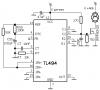 RT и CT задают частоту генератора ШИМ - при данных значениях 14 кГц.  В данном случае ШИМ-контроллер используется для...