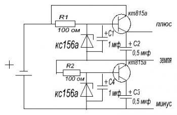 принципиальная схема управления видеокамерой ахис