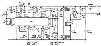 Приймач 27 МГц на мікросхемі К174ХА2.