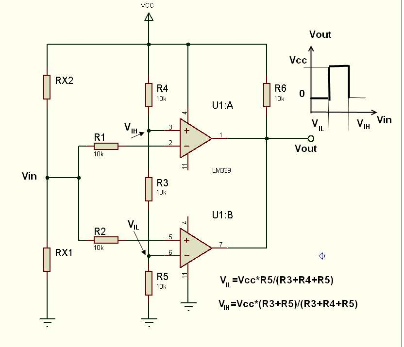 компоратор схема