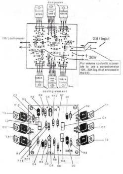схема усилителя звука - Схемы.