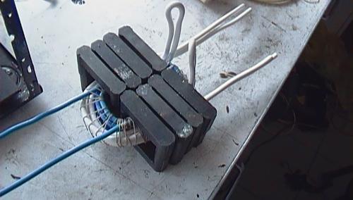 Самодельный сварочный инвертор из доступных деталей своими