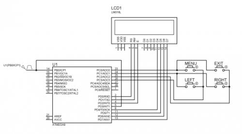 С частотой генератора...  Недавно нашел у себя в архивах программу спидометра на микроконтроллере.