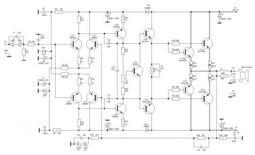 Мощный Умзч На Транзисторах (Ланзар) - Страница 316 - Усилитель мощности Ланзар.