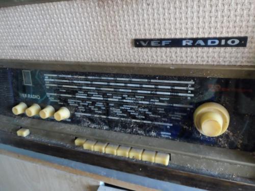Кто-то использовал радиолу как