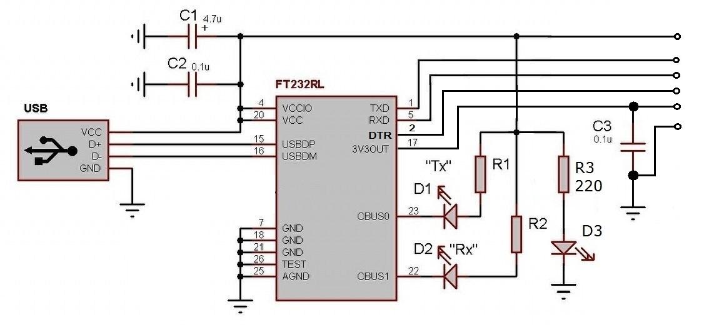 Диагностический адаптер на микроконтроллере 62