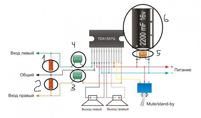 Микросхемы для усилителя звука своими руками
