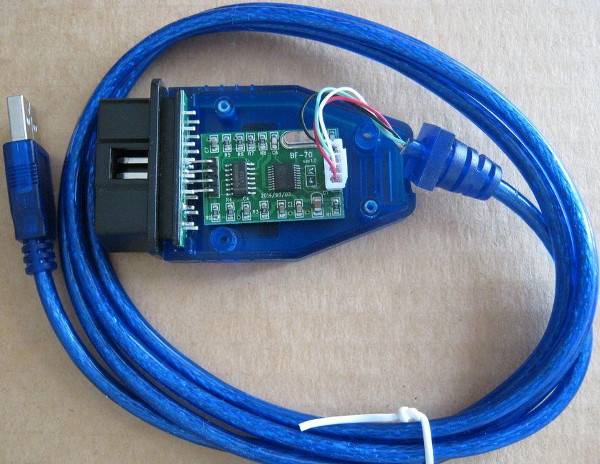 Схема kkl адаптера vag-com 409.1