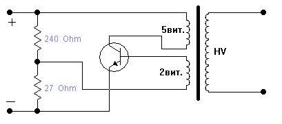 Блокинг генератор своими руками схема 59