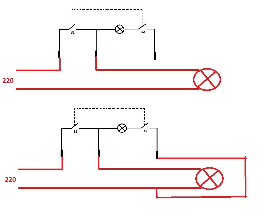 Схема выключателя kcd1