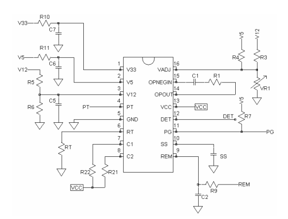Схема бп пк на шим wt7520