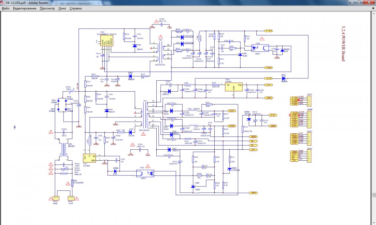 1m0880 схема включения.