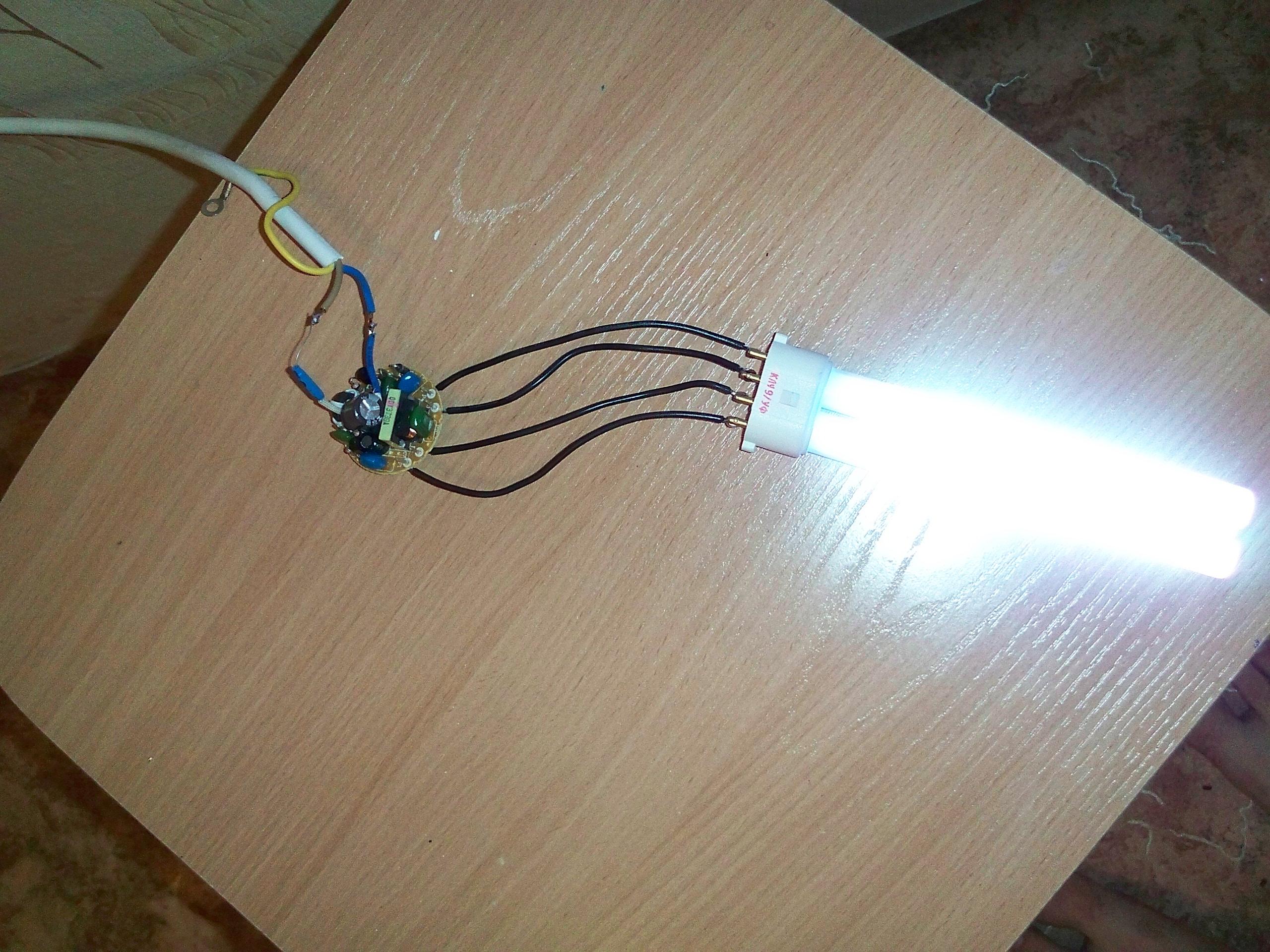 Ремонт ламп дневного света своими руками 705