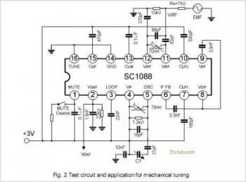 а какой диод поставить на аналог? вот нашёл схемку аналога tda7088 sc1088 её можно.