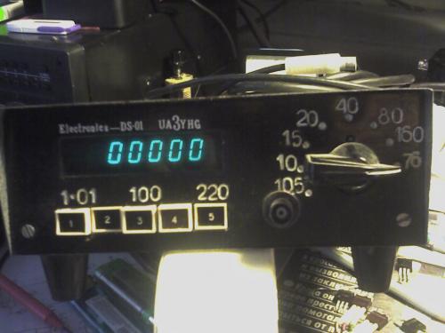 Цифровая Шкала Цш-01 - опубликовано в КВ и радиосвязь: Только не позорьте.  Ради бога.  Просто надо её запустить.