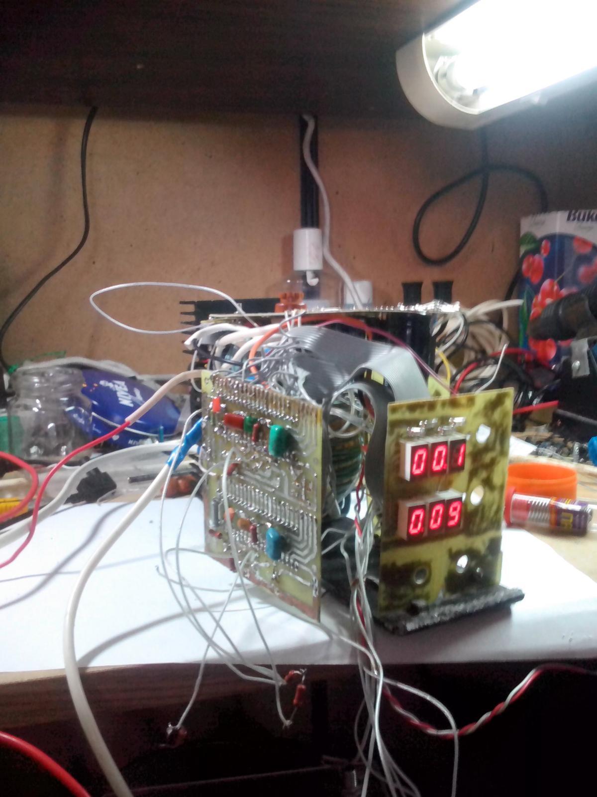 схема цифровой вольтметр для блока питания на icl 7107