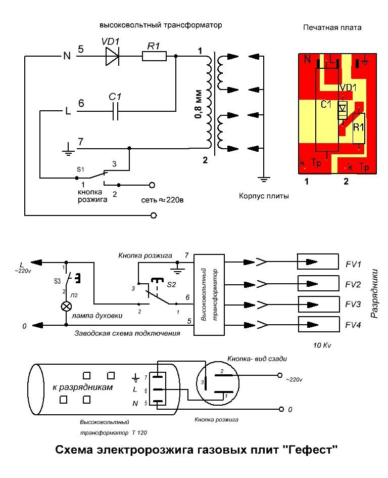 Bosch газовая плита ремонт