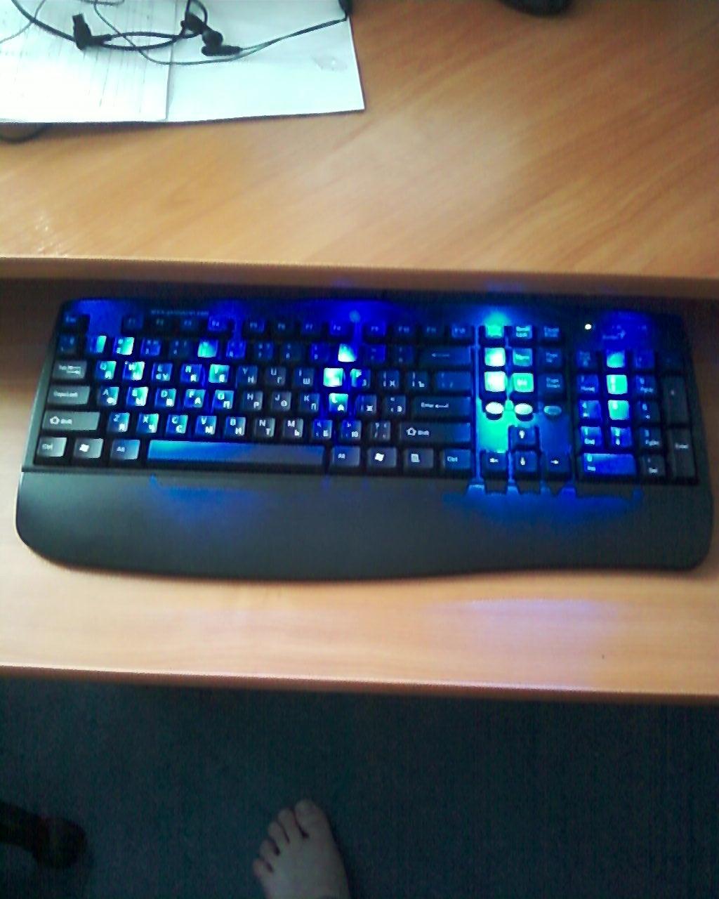 Как своими руками сделать подсветку для клавиатуры своими руками
