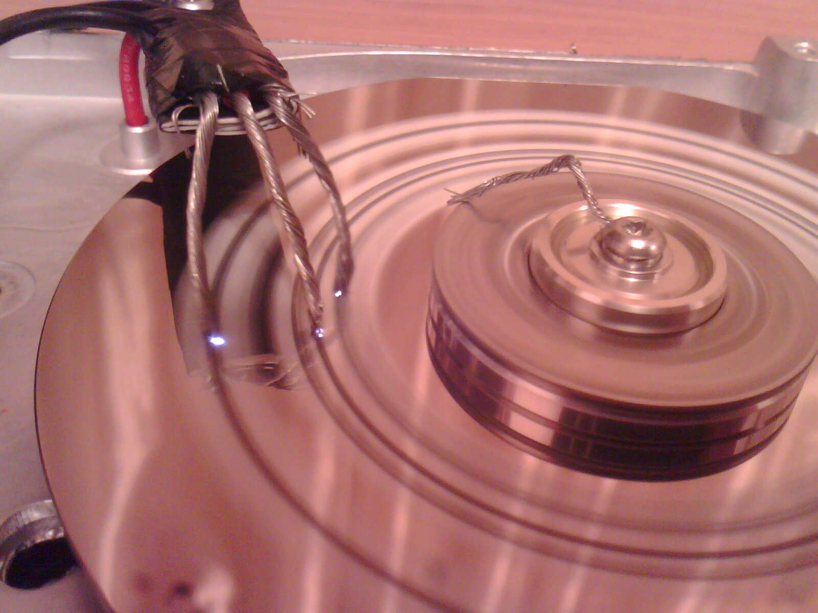 схема мотора жесткого диска
