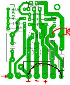 усилитель на tda tda2050 - Микросхемы.