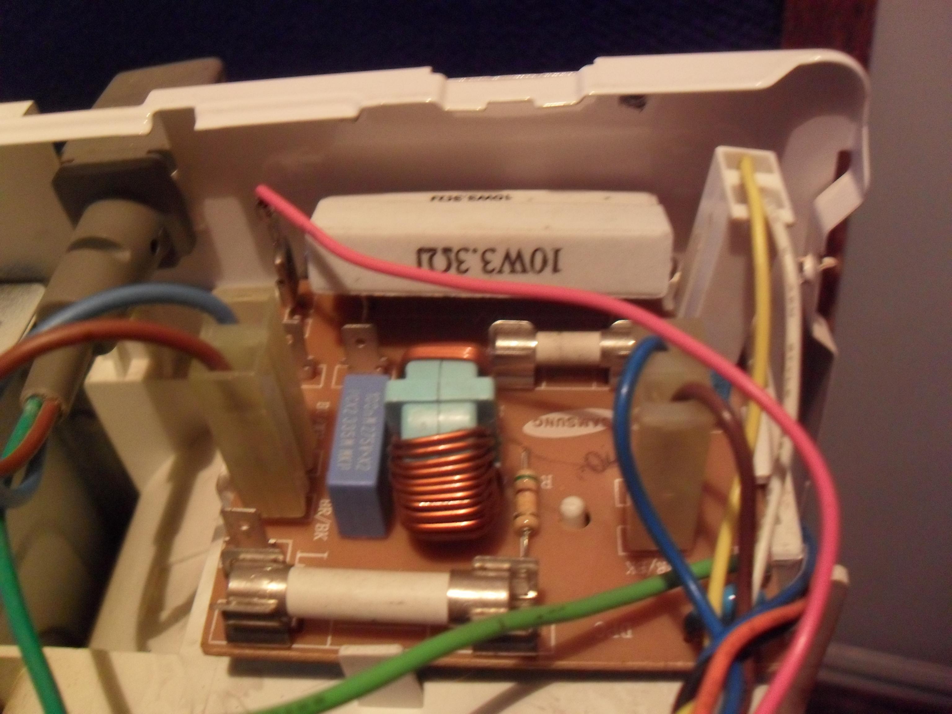 Схема фильтра от микроволновки