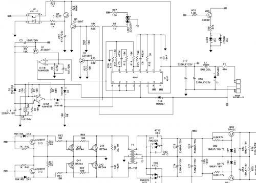 У меня есть вопрос по схеме преобразователя заводского автоусилителя.  Можно ли сделать пуск ПНа в усилителе плавным...