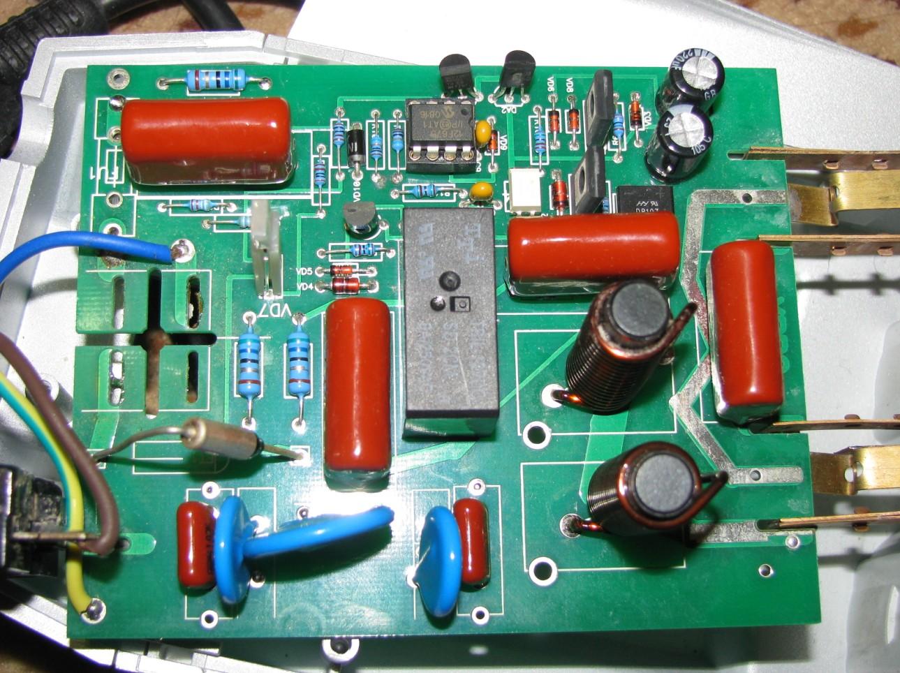 Фильтр для пилота схема