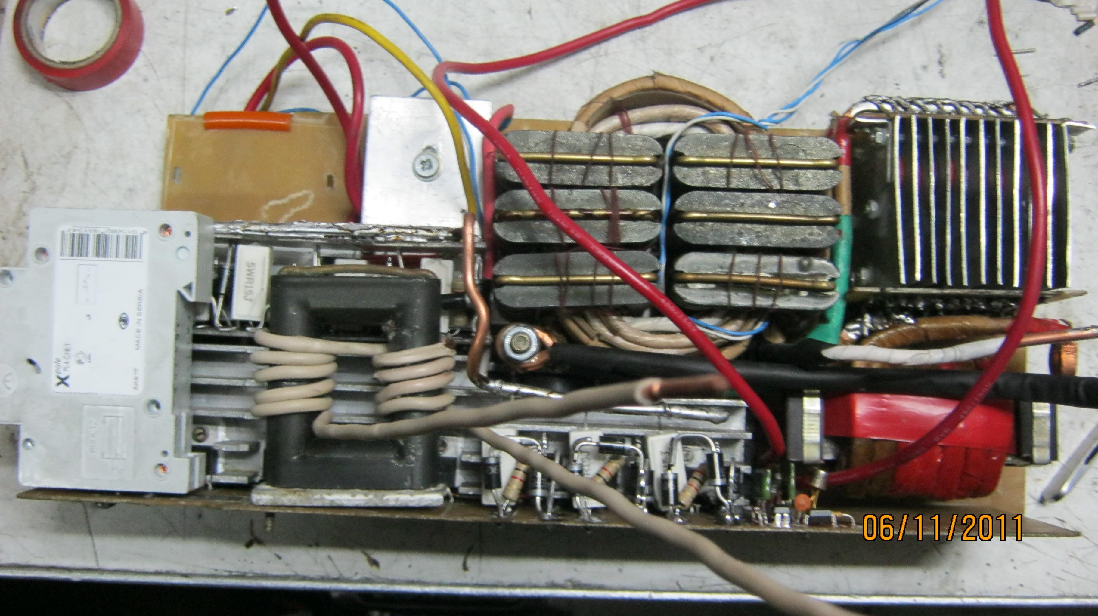 Самодельный инвертор из доступных деталей своими руками