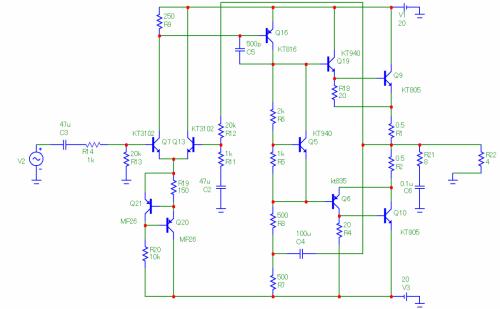 С помощью R5 установить ток