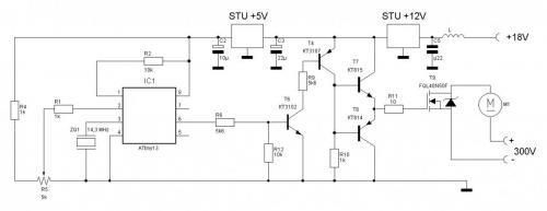 Tda7420 схема включения