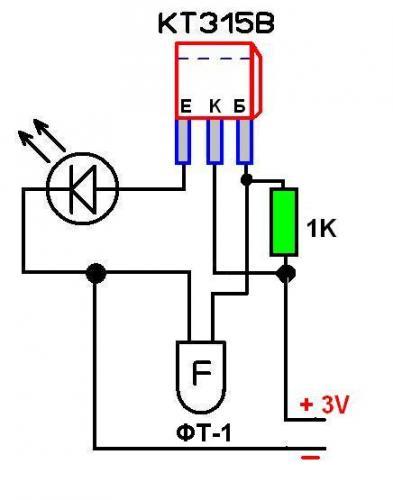 открытой простые схемы с фоторезистором пролежни
