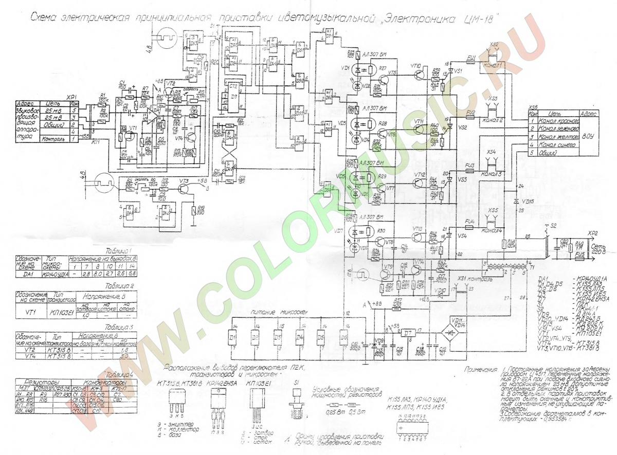 электроника цм 16 инструкция