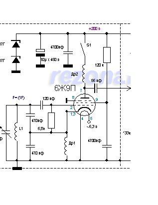 Передатчик (Шарманка) на 6П3С и других лампах - Форум