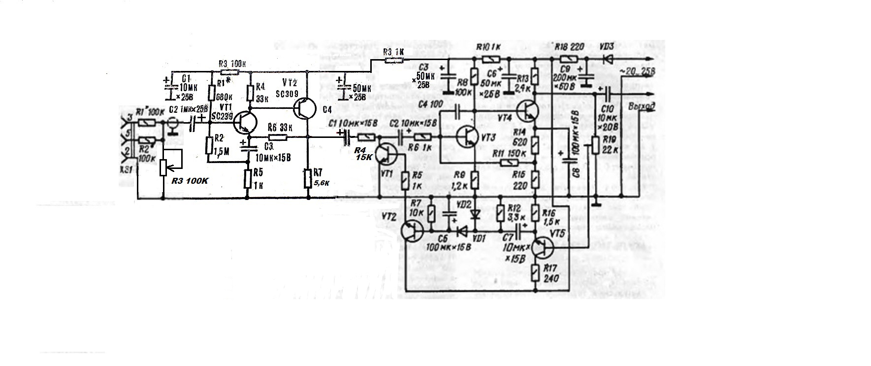 компрессор для цму схема