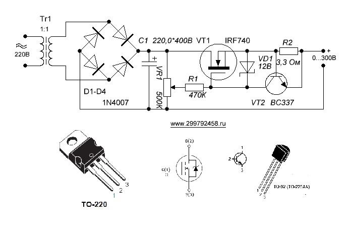 Простой стабилизатор тока схема фото 596