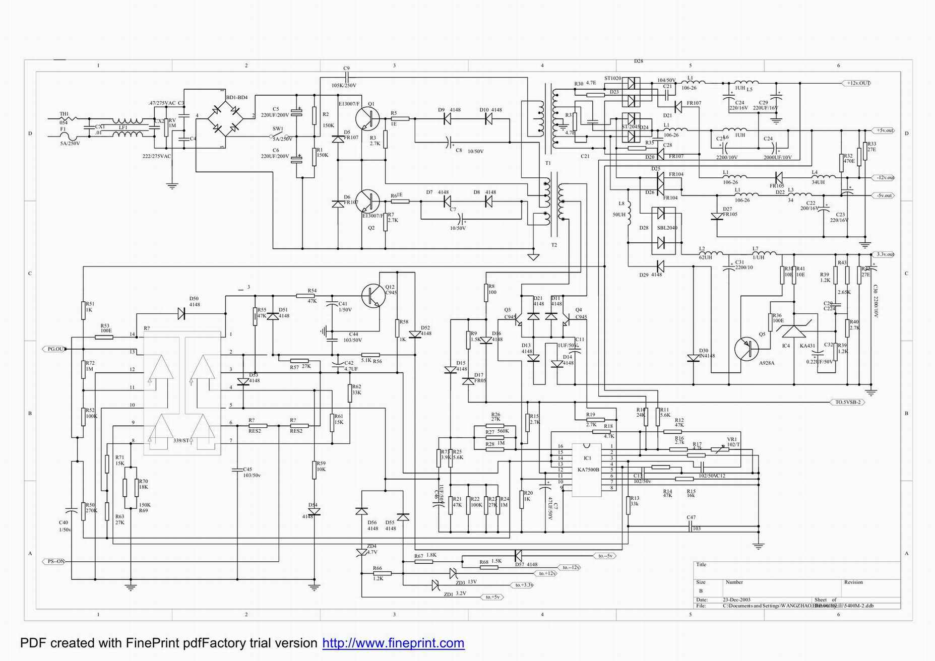 Схема microlab 5400m 1.