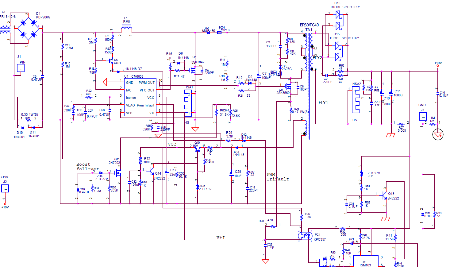 Lec 993 rev 1.4 схема