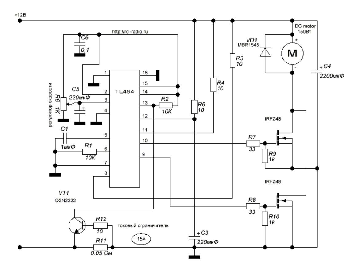 лодочные шим регуляторы оборотов двигателя постоянного тока