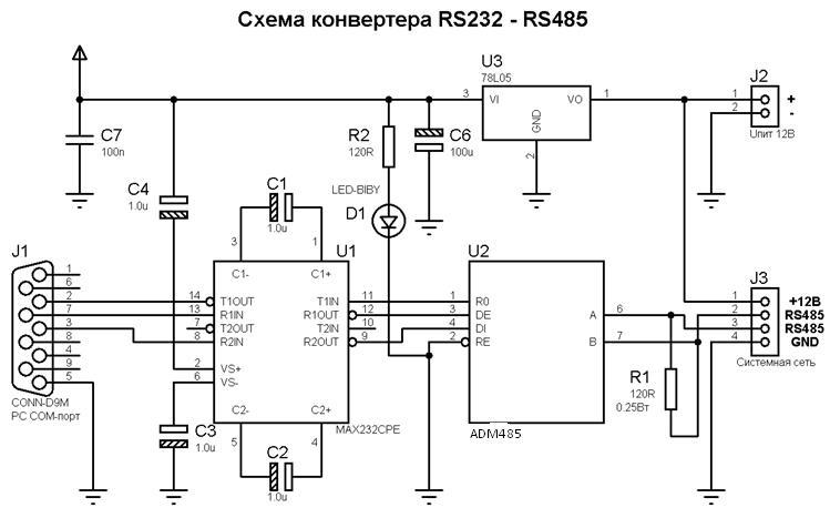 Кабель rs485 своими руками 24