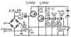 По инфразвуковой частоте диоды включены последовательно, по звуковой частоте сигнала - навстречу...